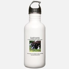 Are You Worthy? II design Water Bottle