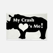 Crash Love Rectangle Magnet