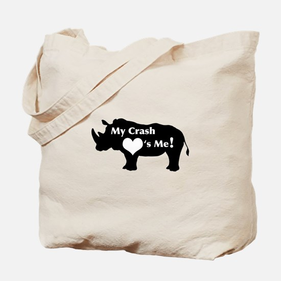 Crash Love Tote Bag