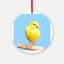 Canary Art Ornament (Round)