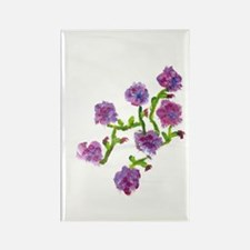 Purple Flowers Magnet