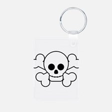 cute_skull flat.png Keychains