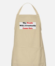 The Truth Will Come Out Apron