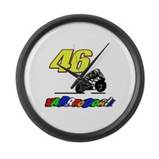 VR46vroom Large Wall Clock
