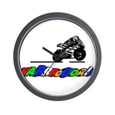 VRoom2 Wall Clock