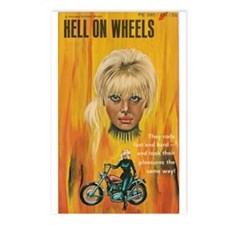 HELL ON WHEELS Postcards (Package of 8)