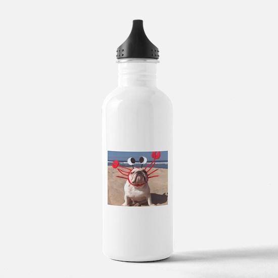 Lobster Dog Water Bottle