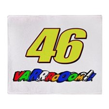 VR46vroom3 Throw Blanket