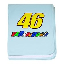 VR46vroom3 baby blanket
