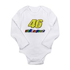 VR46vroom3 Long Sleeve Infant Bodysuit