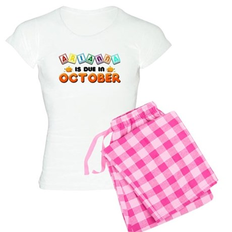 Arianna is Due in October Women's Light Pajamas