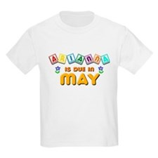 Arianna is Due in May T-Shirt