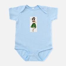 Hula Girl Infant Creeper
