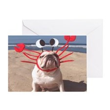 Lobster Dog Greeting Card