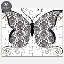 Damask Butterfly Puzzle