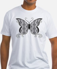 Damask Butterfly Shirt
