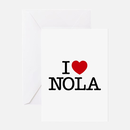 I Heart New Orleans Greeting Card