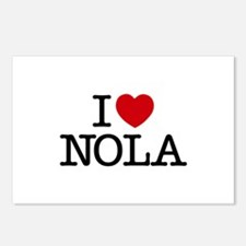I Heart New Orleans Postcards (Package of 8)