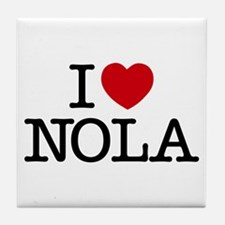 I Heart New Orleans Tile Coaster