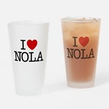 I Heart New Orleans Drinking Glass