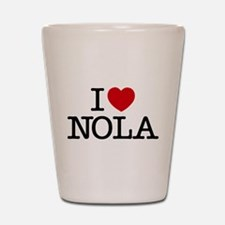 I Heart New Orleans Shot Glass