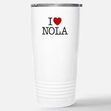 I Heart New Orleans Travel Mug