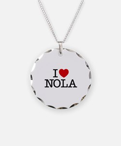 I Heart New Orleans Necklace