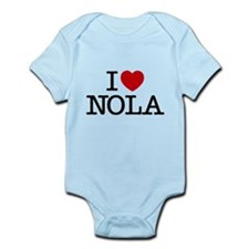 I Heart New Orleans Infant Bodysuit