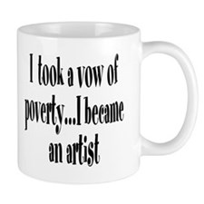 Vow of Poverty Mug
