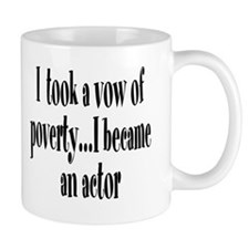 Vow of Poverty Small Mug