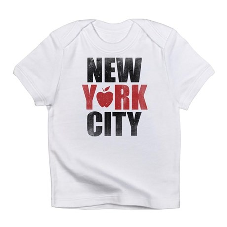 New York City White Infant T Shirt New York City Infant T