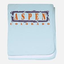 Cute Aspen baby blanket