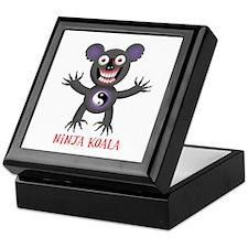 Ninja Koala Keepsake Box