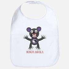 Ninja Koala Bib