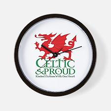 C&P Welsh Wall Clock