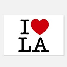 I Heart Las Angeles Postcards (Package of 8)
