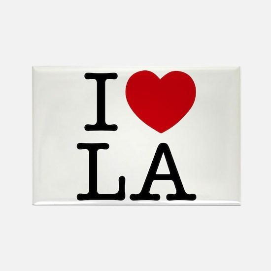 I Heart Los Angeles Rectangle Magnet