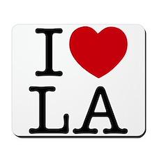 I Heart Las Angeles Mousepad