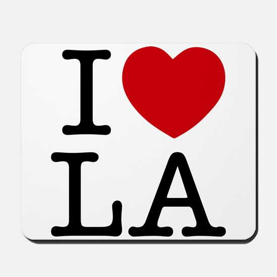 I Heart Los Angeles Mousepad