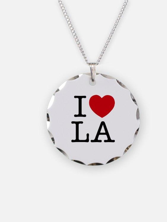 I Heart Los Angeles Necklace