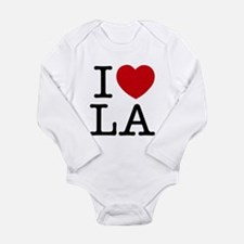 I Heart Las Angeles Long Sleeve Infant Bodysuit