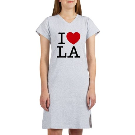 I Heart Las Angeles Women's Nightshirt
