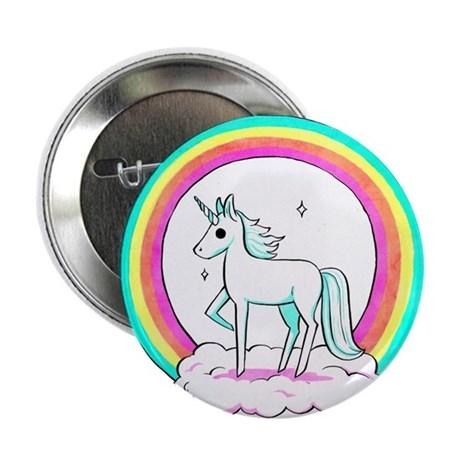 "Unicorn 2.25"" Button"