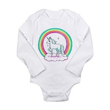 Unicorn Long Sleeve Infant Bodysuit