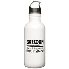 Bassoon Instrument Stainless Water Bottle 1.0L