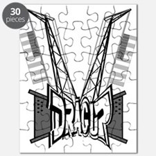 DRAG UP RIGS Puzzle