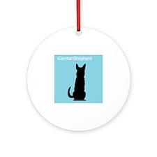 iGermanShepherd Ornament (Round)