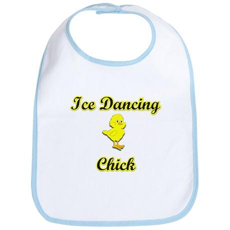 Ice Dancing Chick Bib