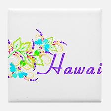 Funny Hawaii Tile Coaster