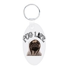 Pug Life Keychains